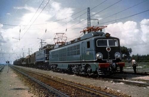 Ф-02 и ВЛ61Д. СССР, Рязанская область, ст. Виленки