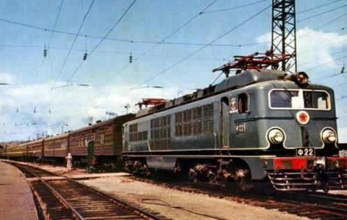 Ф-22. СССР, Красноярская ж/д. Прислал на TrainPix: Pakarkin