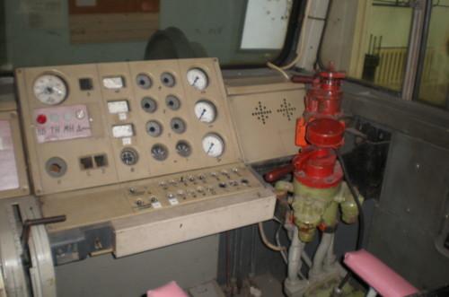2ТЭ136 пульт машиниста. Автор: dolenc