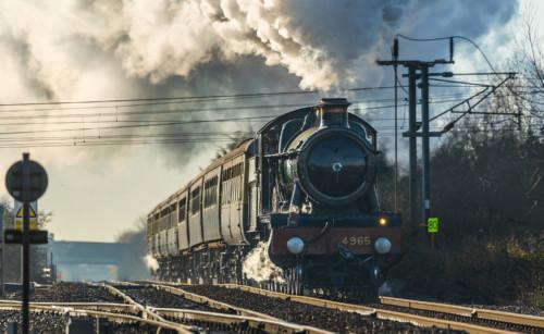 GWR 4900 4965. Великобритания, Newark, Diamond Crossing. Автор: Kevin Frost. Дата: 6 декабря 2014 г.