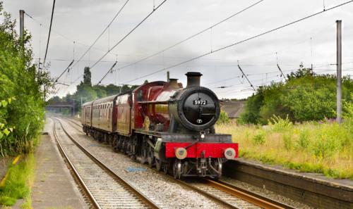 GWR 4900 5972. Великобритания, Carnforth, Leyland. Автор: mike.online. Дата: 7 июля 2014 г.