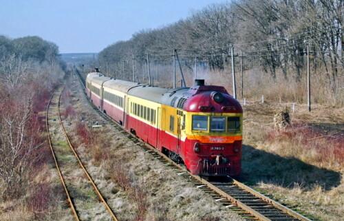 Д1-780. Молдова, перегон Рэуцел - Бэлць-Ораш. Автор: FirstAct. Дата: 9 марта 2014 г.