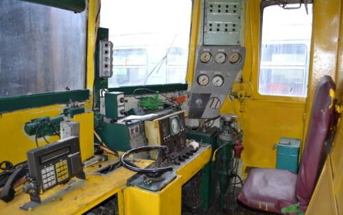 Д1М-805 кабина. Россия, Московская ж/д. Дата: 19 октября 2011 г.