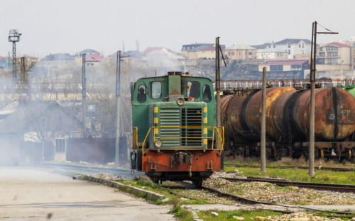 ТГМ23-2222. Азербайджан, Баку, станция Баладжары. Автор: rzd_microsoft. Дата: 26 марта 2019 г.