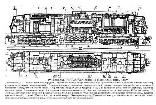 ТЭ120 схема