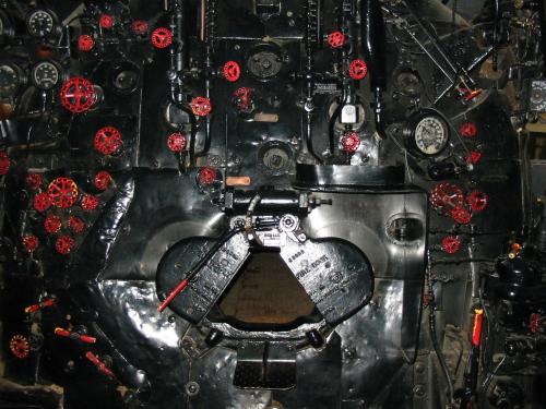 UP 4017 будка машиниста. США, Висконсин, Грин-Бей, Национальный ж/д музей. Автор: Sean Lamb. Дата: 26 апреля 2004 г.