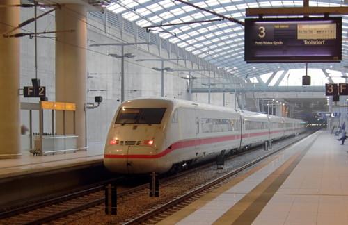 ICE 2. Станция аэропорта Кельн / Бонн. Автор: Own work . Дата: 1 апреля 2006