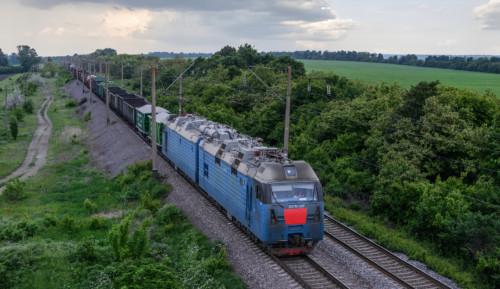 2ЭЛ5-001. Украина, Одесская область, перегон пост 92 км - Любашёвка. Автор: SV85. Дата: 18 мая 2019 г.