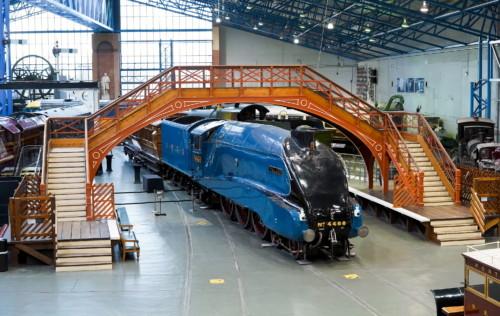 LNER Class A4 4468. Великобритания, York National Railway Museum. Автор: paul manley. Дата: 7 января 2020 г.