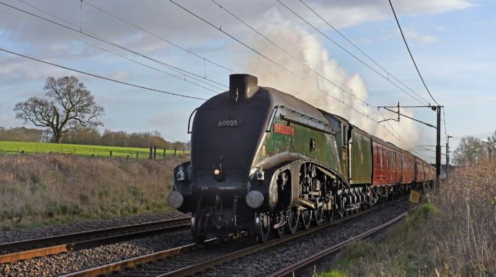 LNER Class A4 4488. Великобритания, Carnforth. Автор: garstangpost.t21. Дата: 4 февраля 2020 г.