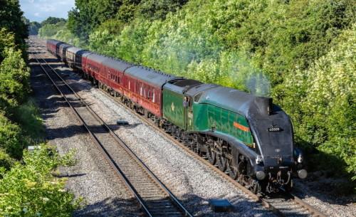 LNER Class A4 4488. Великобритания, Лондон, Paddington Charter. Автор: neil vallender. Дата: 16 июня 2018 г.