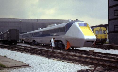 British Rail APT-E. Дата: 1974 г.