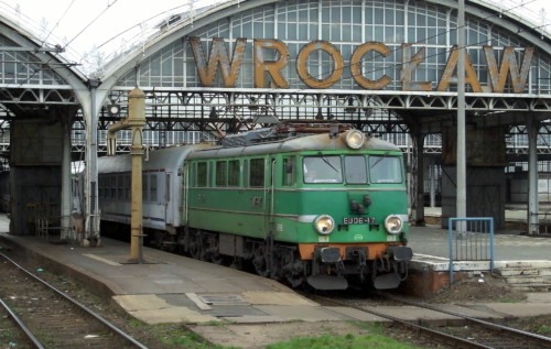 EU06-17. Польша, Wrocław Główny. Автор: Damian Szarek. Дата: 6 октября 2007 г.