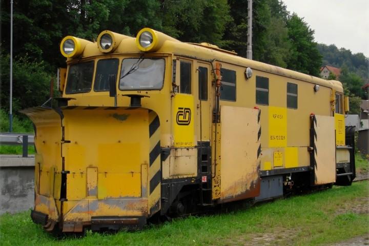 KSP 411 S-1 80. Чехия, вокзал Tanvald. Автор: Colombo Liberec. Дата: 31 августа 2007 г.