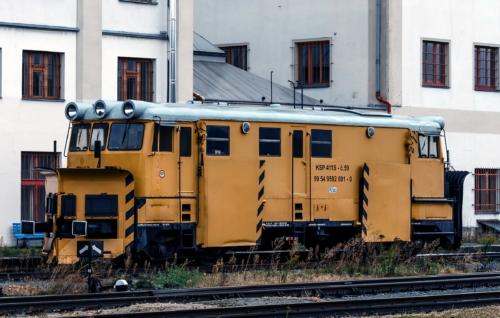 KSP411S-59. Чехия, Либерецкий край, станция Либерец. Автор: AlbGor. Дата: 6 октября 2016 г.