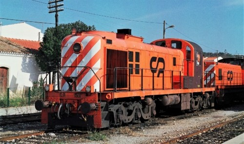 RSC-2 1501. Португалия, Tunes. Автор: John Stein. Дата: 1997 г.