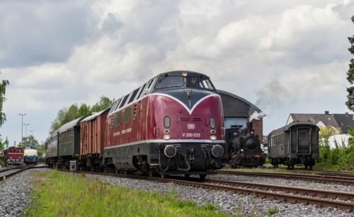 V200 033. Германия, Северный Рейн-Вестфалия, станция Хамм-Южный. Автор: Антон Зозуля. Дата: 14 мая 2017 г.