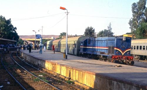 G22W-AC 3986. Египет, станция Aswan. Автор: Paul Haywood. Дата: 2 января 2015 г.