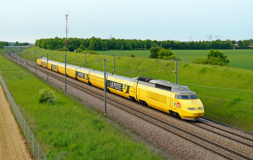 TGV La Poste. Франция, Rainham. Автор: christopherfitzgerald1994. Дата: 21 марта 2012 г.