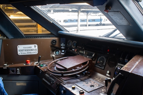TGV La Poste пульт машиниста. Автор: bb_17002. Дата: 29 февраля 2020 г.